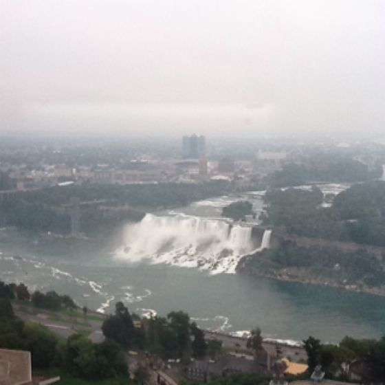 The Falls from the Hilton