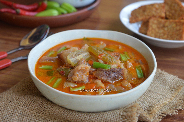 Jangan Kesrut Khas Banyuwangi By Diah Didi S Kitchen Resep Resep Masakan Memasak Resep Masakan Indonesia