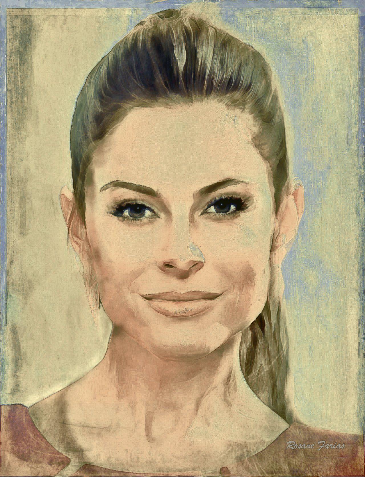 Maria Menounos Digital art - Free size