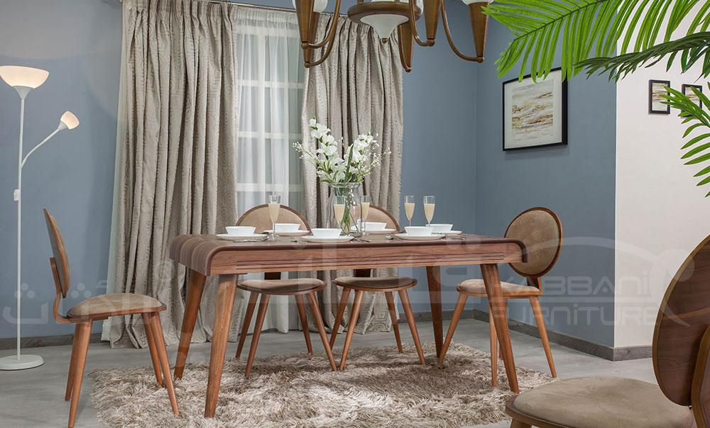 ترابيزة سفرة لازوردي 160 سم Home Decor Dining Table Furniture