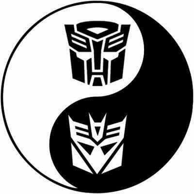 Yin Yang Transformers Transformers Decepticons Transformers Autobots Transformers Artwork