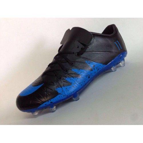 reputable site 19ee8 d7096 Comprar Nike Hypervenom Phantom II NJR TPU Negro Azul Zapatos De Soccer