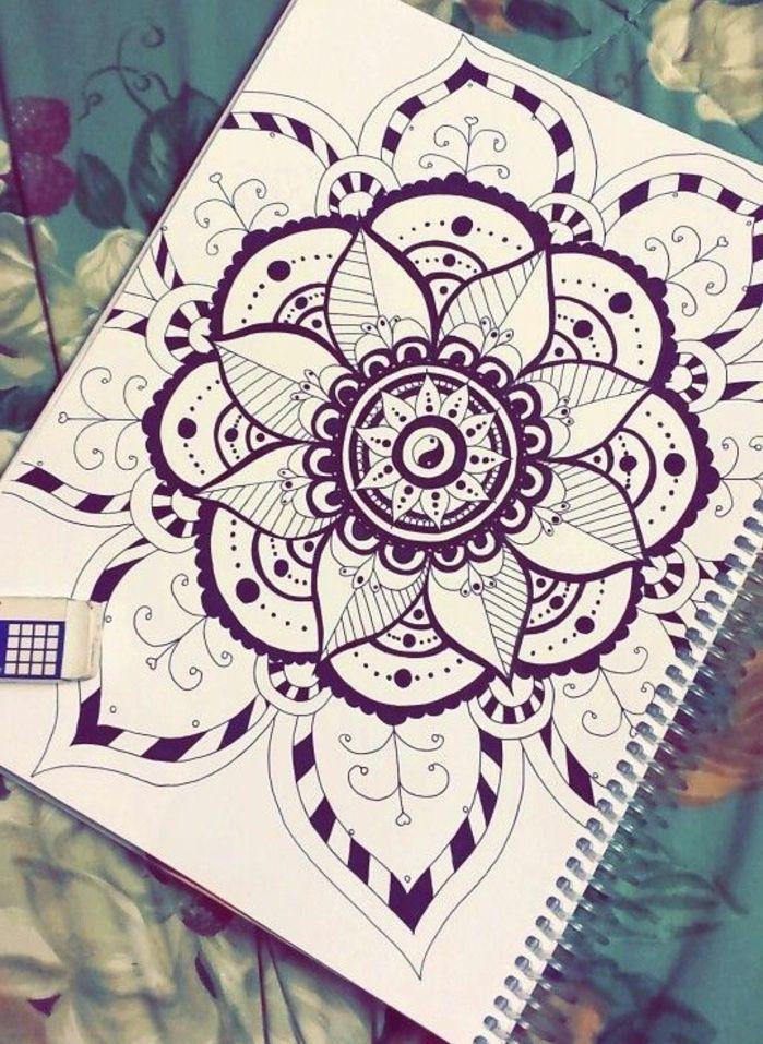 1001 Idees Et Techniques Pour Faire Un Mandala Art Pinterest