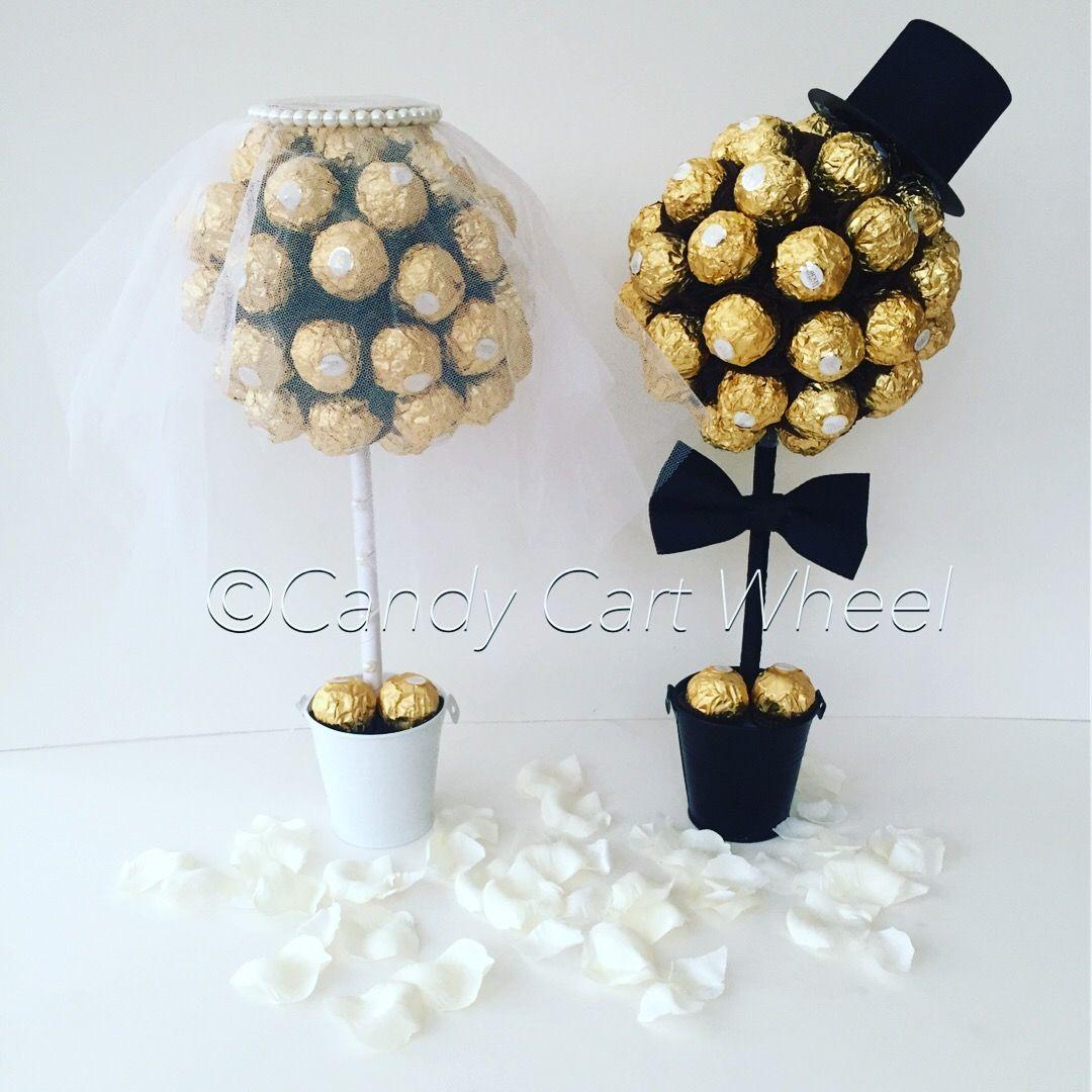 Large Ferrero Rocher Bride Groom Trees 1 Jpg 1 080 1 080 Pixels Geschenke Zur Goldenen Hochzeit Geschenke Brautpaar Geschenk Hochzeit