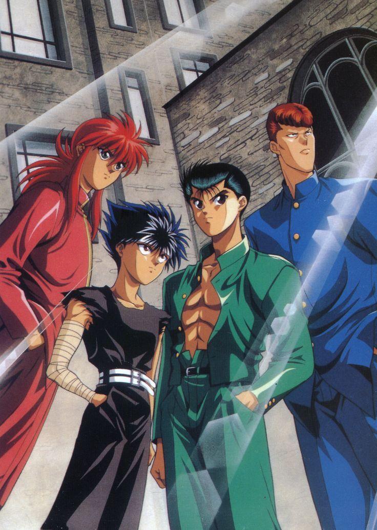 1600x2254 100 yu yu hakusho anime anime anime characters