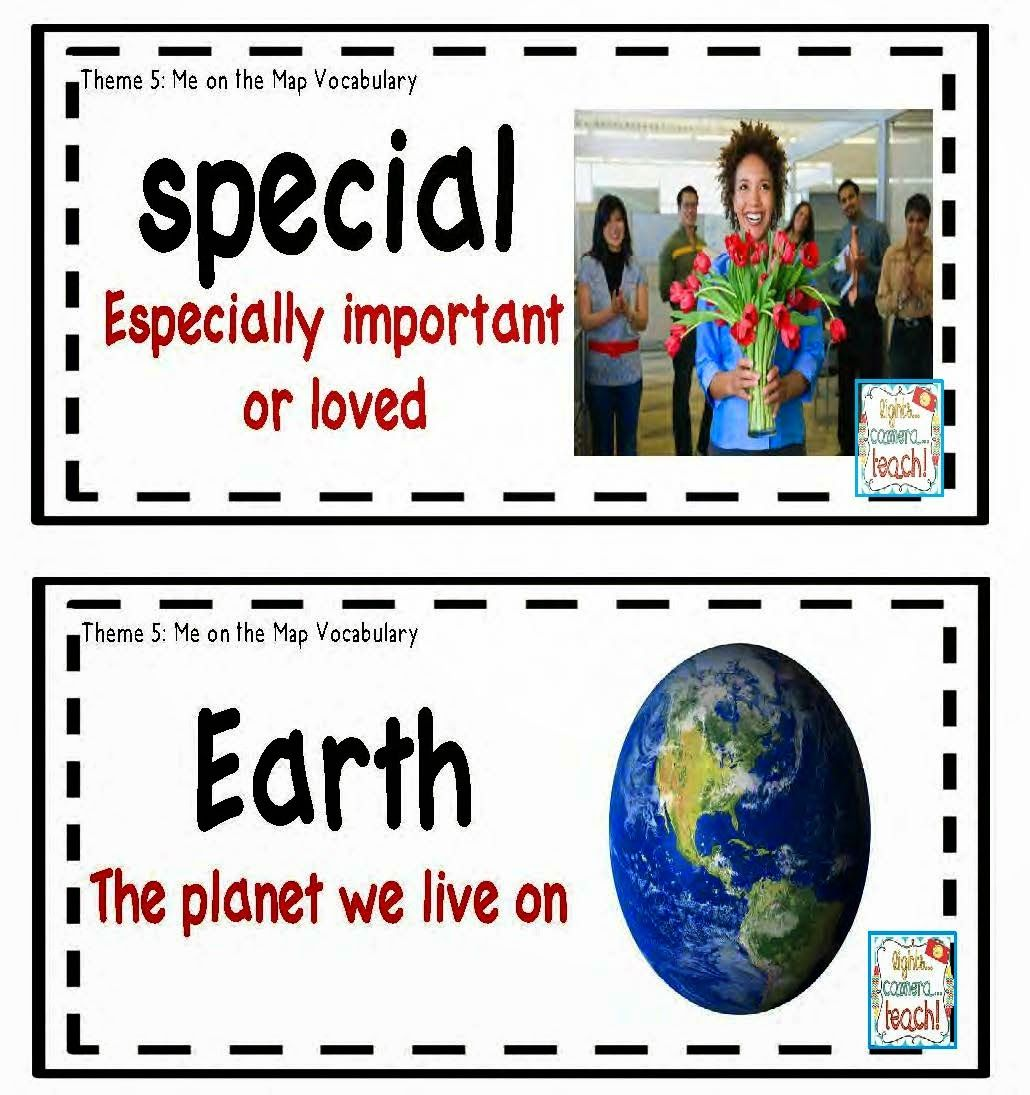 Real Pictures For Vocabulary Cards Great For All Learners