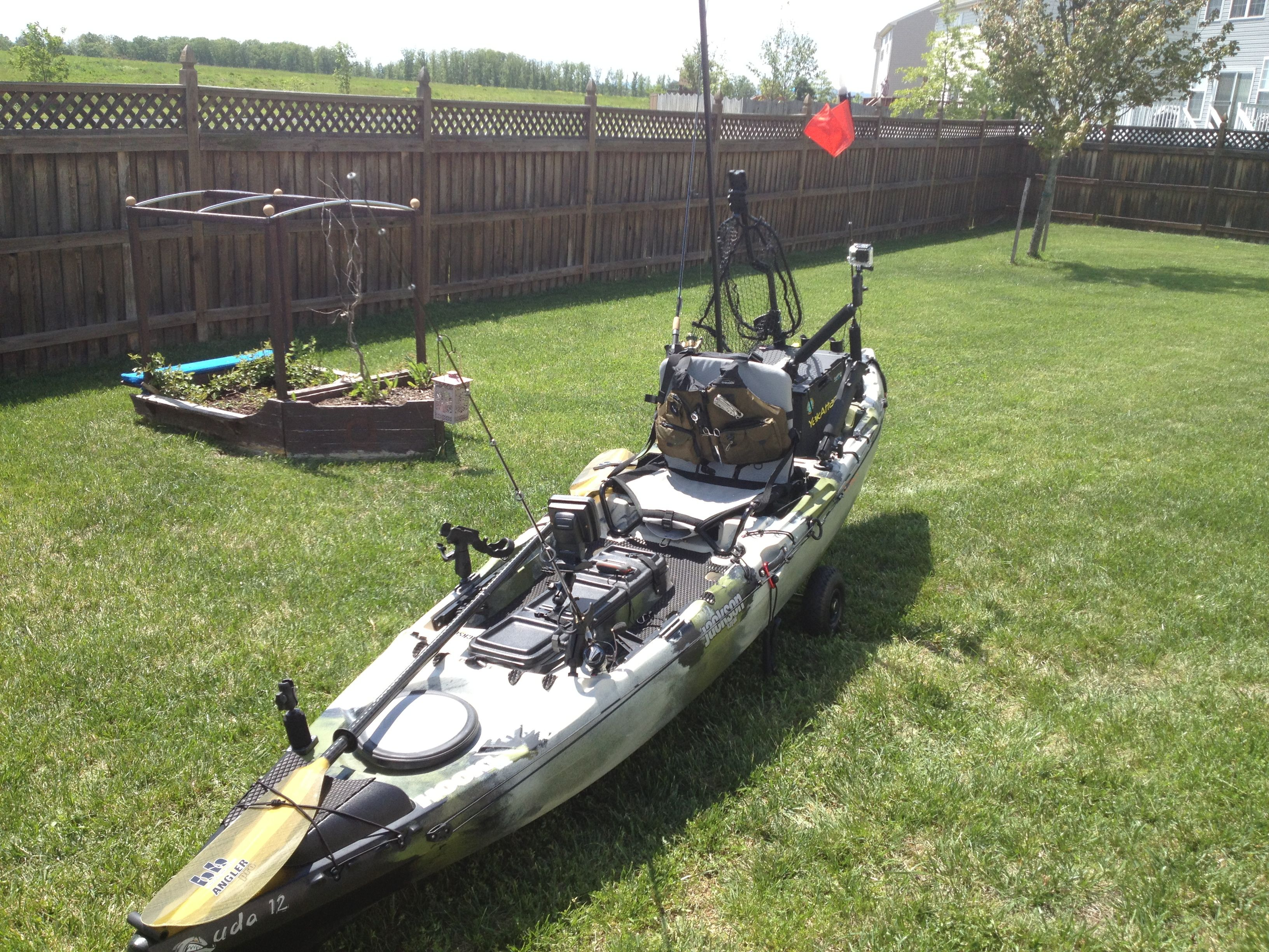 My jackson kayak cuda 12 fly fishing pinterest fish for Fly fishing kayak