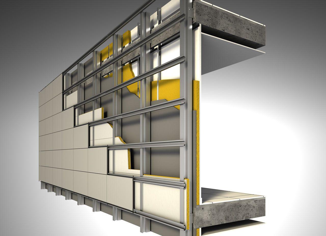 Aislamiento de fachadas en el aislamiento de fachadas - Revestimientos de fachadas ...