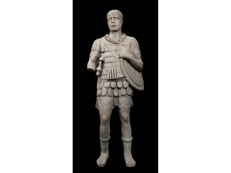 Panzerstatue eines Imperators oder Feldherrn  HAMPEL Fine Art Auctions #greekstatue