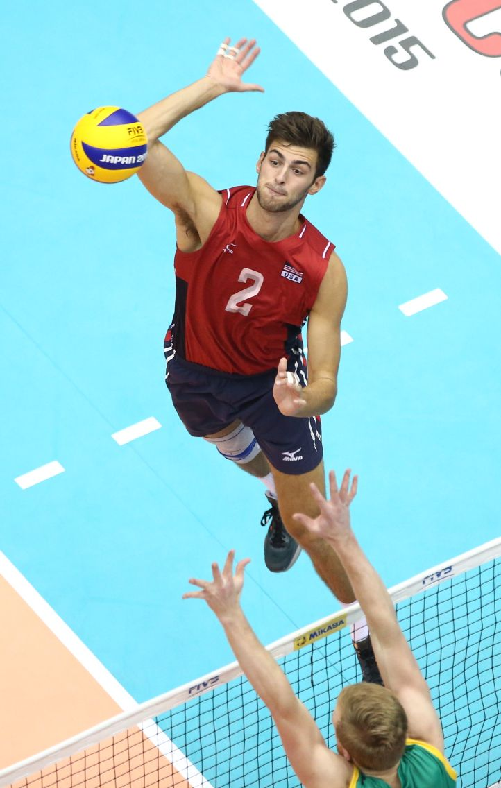 Aaron Russel Mens World Cup Usa Volleyball Basketball Boyfriend
