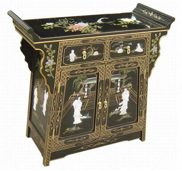 Oriental Antique Style Altar / Console Table Price: $279.99