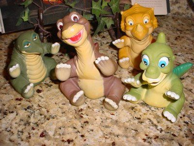 The Land Before Time puppets!! The best Pizza Hut toys ever!! My ...