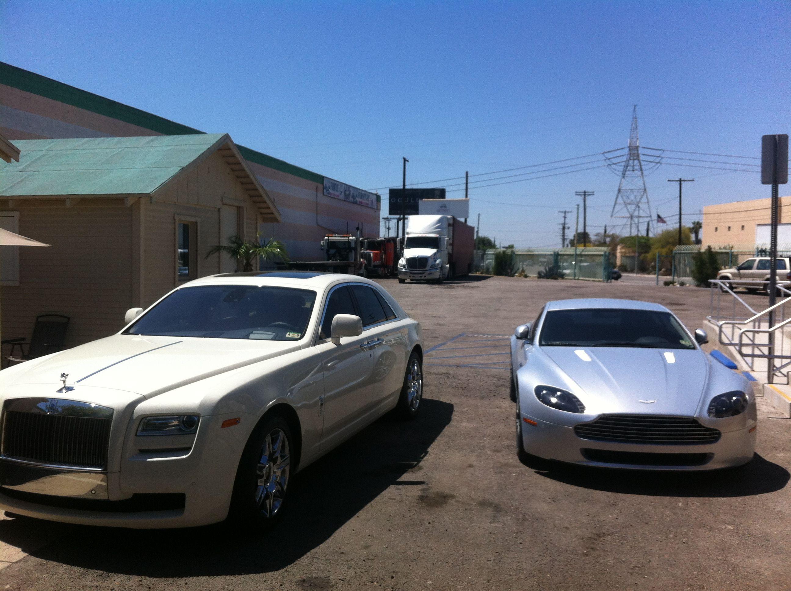 Our Loyal Customers Had Their Aston Martin And Rolls Royce Phantom