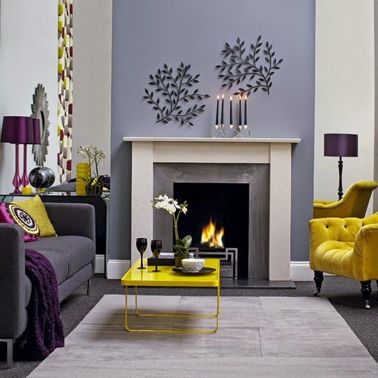 lemon and grey living room lemon lavender and grey living room scheme 20362