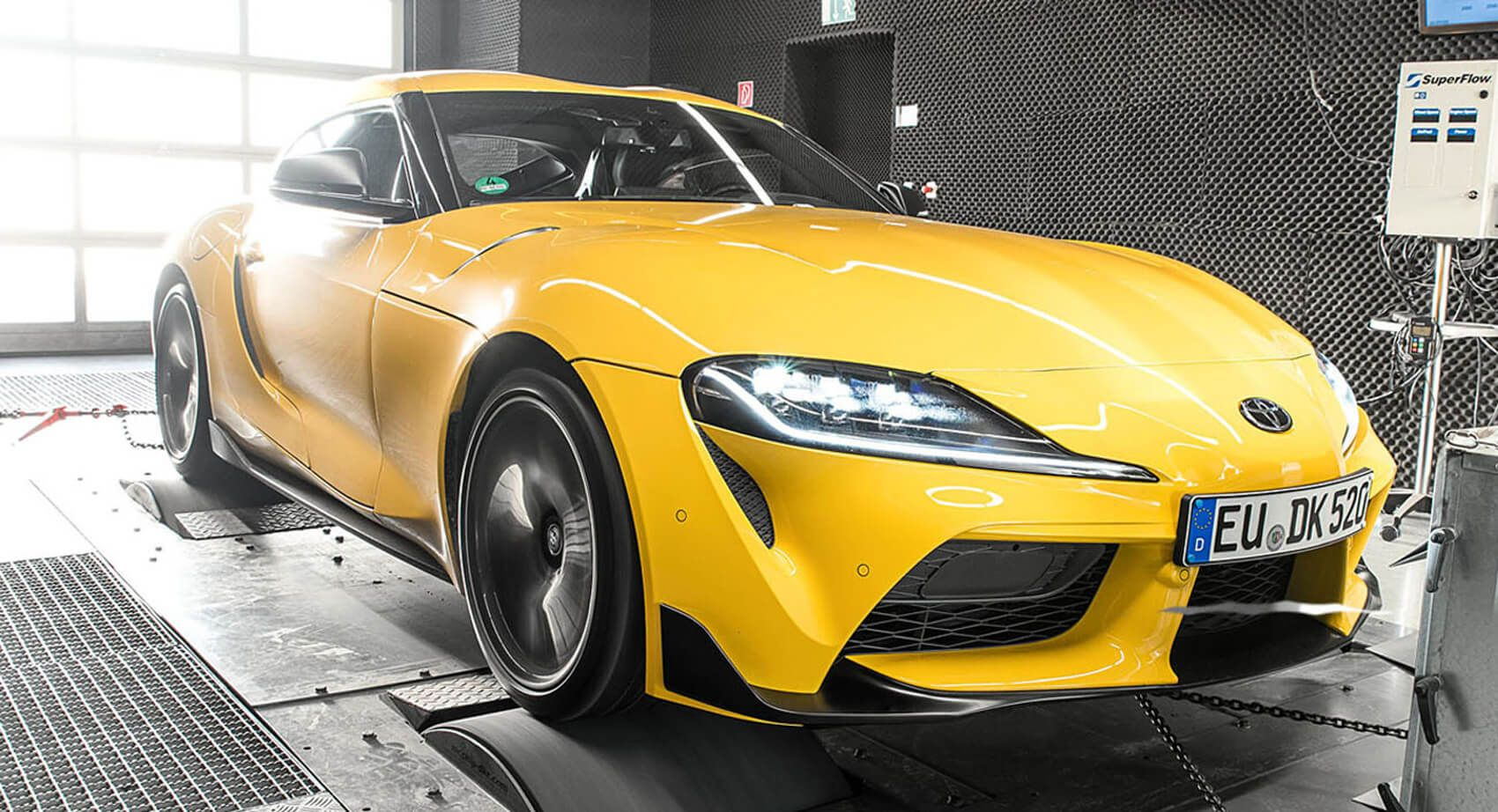 2020 Toyota Gr Supra Goes Bmw M2 Competition Hunting With 439 Hp Tuning Boost In 2020 Bmw M2 Toyota Supra Toyota