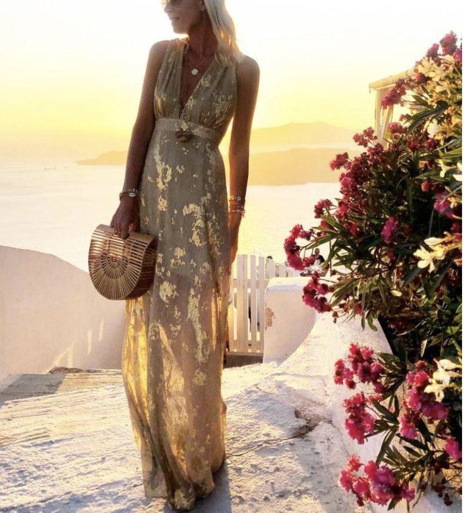 Maxi Summer dress By Ininruby nel 2020   Idee vestito ...