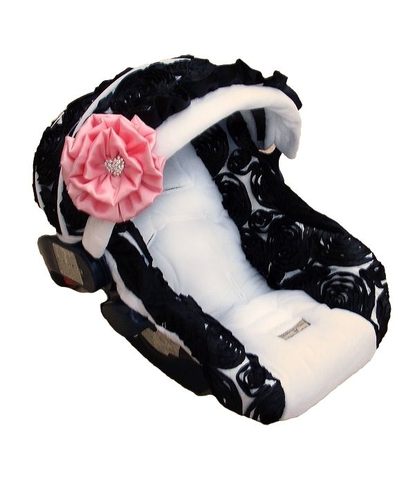 Baby Carseat Covers. Adorable! LOVE THIS!!!! also site has such cute outfits