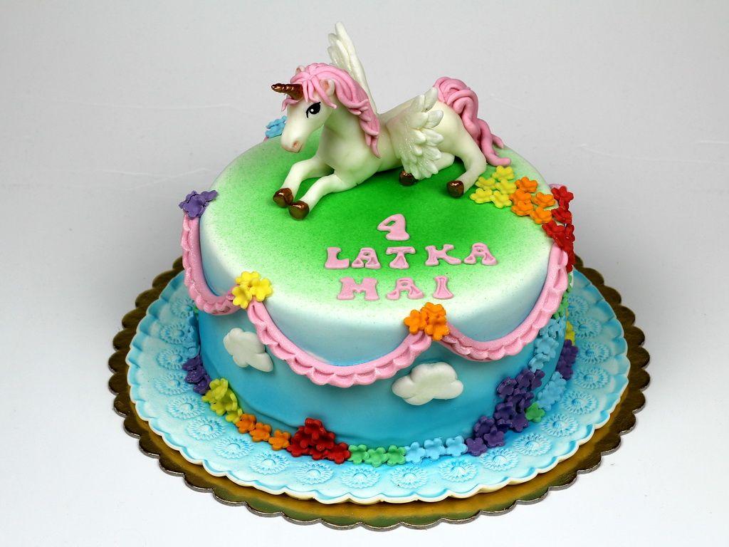 Unicorn Birthday Cake for Girl in London httpwwwpinkcakelandco