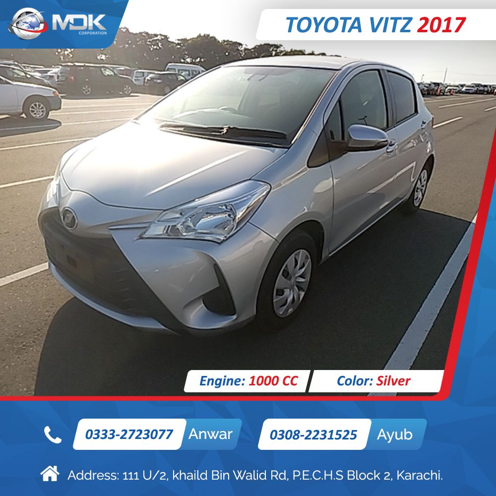 Japanese Used Toyota Vitz 2017 for Sale in 2020 Japanese