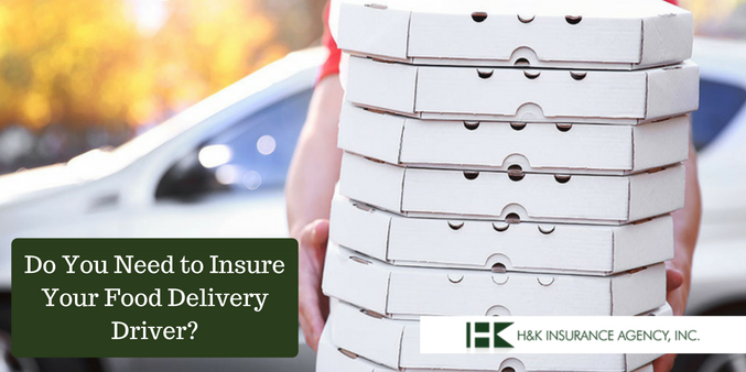 Do You Need To Insure Your Food Delivery Driver Commercial