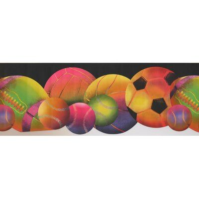 "Harriet Bee Colunga Colorful Sport 0.7' L x 180"" W"