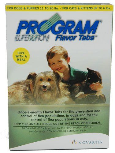 47 50 58 95 Program For Dogs 11 To 20 Pounds Or Cats Up To 6 Pounds Lufenuron Is A Insect Development Inhibitor Which Breaks The Flea Cat Fleas Dogs Fleas