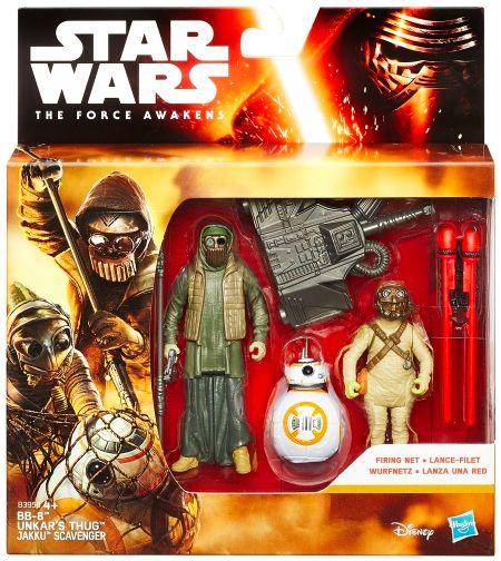 Star Wars The Force Awakens Desert Mission Unkar Plutt 3.75 In SAME-DAY SHIP
