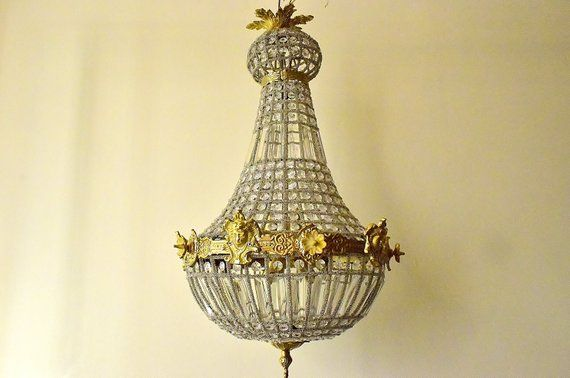 Vintage Spherical Ceiling Light