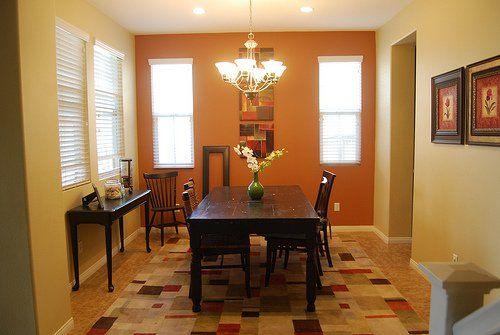 Comedor parkstally livings colores calidos pinterest - Pinturas para comedores ...