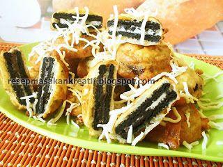 Resep Oreo Goreng Pancake Enak Dan Renyah Ide Makanan Kue Dadar Resep Masakan Indonesia