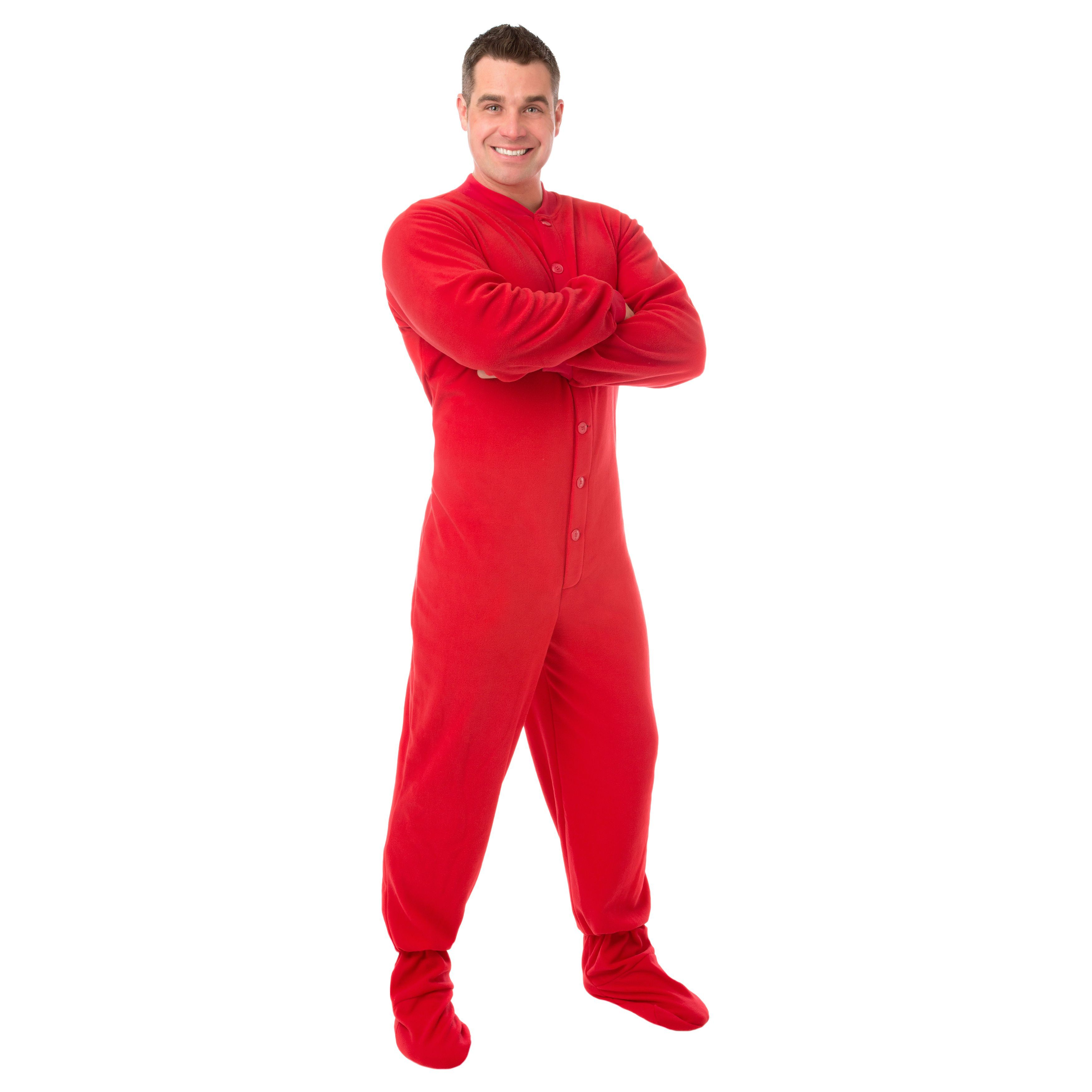 2647aff2e2a7 Unisex Adult Footed Pajamas by Big Feet PJs