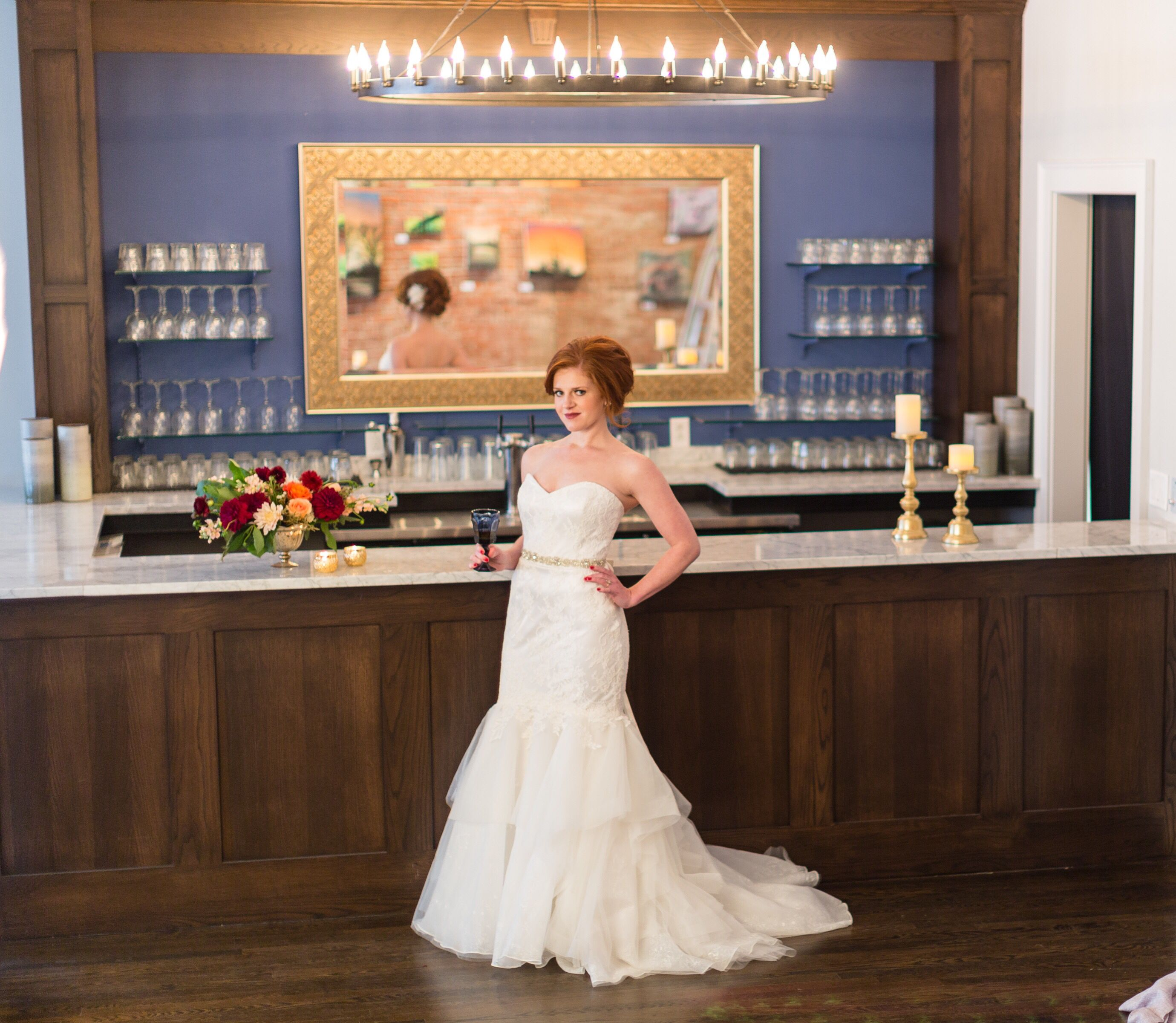 Beautiful bride & beautiful venue in downtown Kansas City