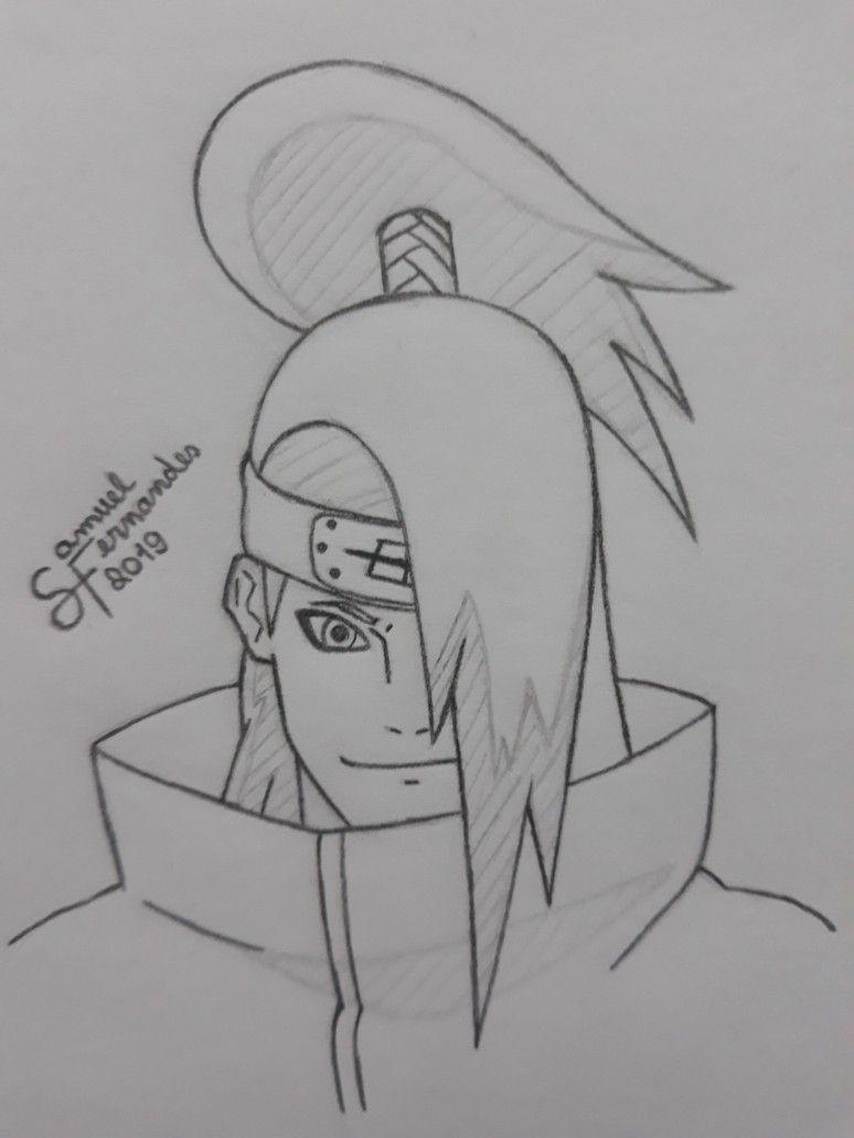 Draw By Samuel Fernandes Desenhos Escuros Desenhos De Anime