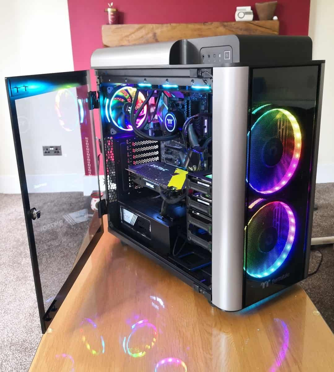 Thermaltake Level 20 Gt Rgb Plus Full Tower Pc Case Review Pc