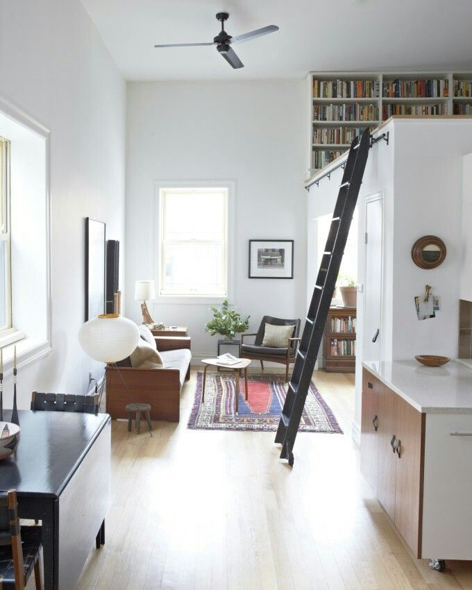 Pin By Becky Koker On Tiny Houses Loft Apartment Decorating Small