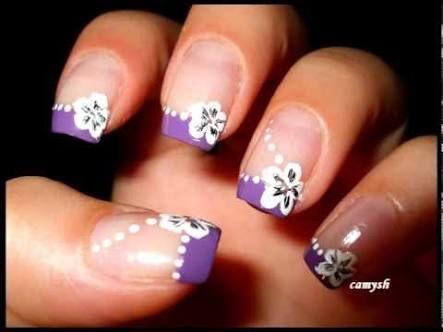 purple nails - Google Search