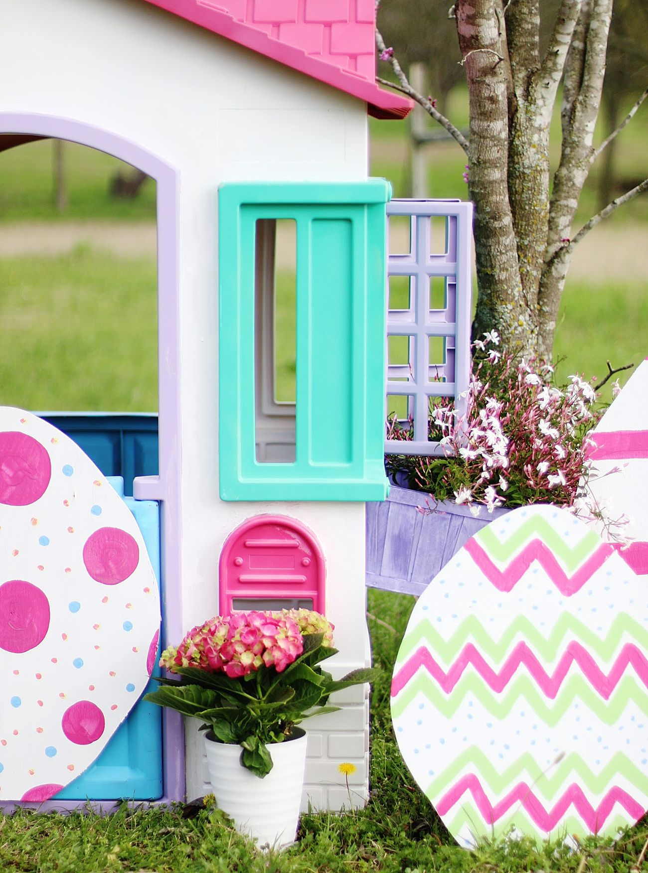 Little Tikes Playhouse™ Spring Makeover Thistlewood