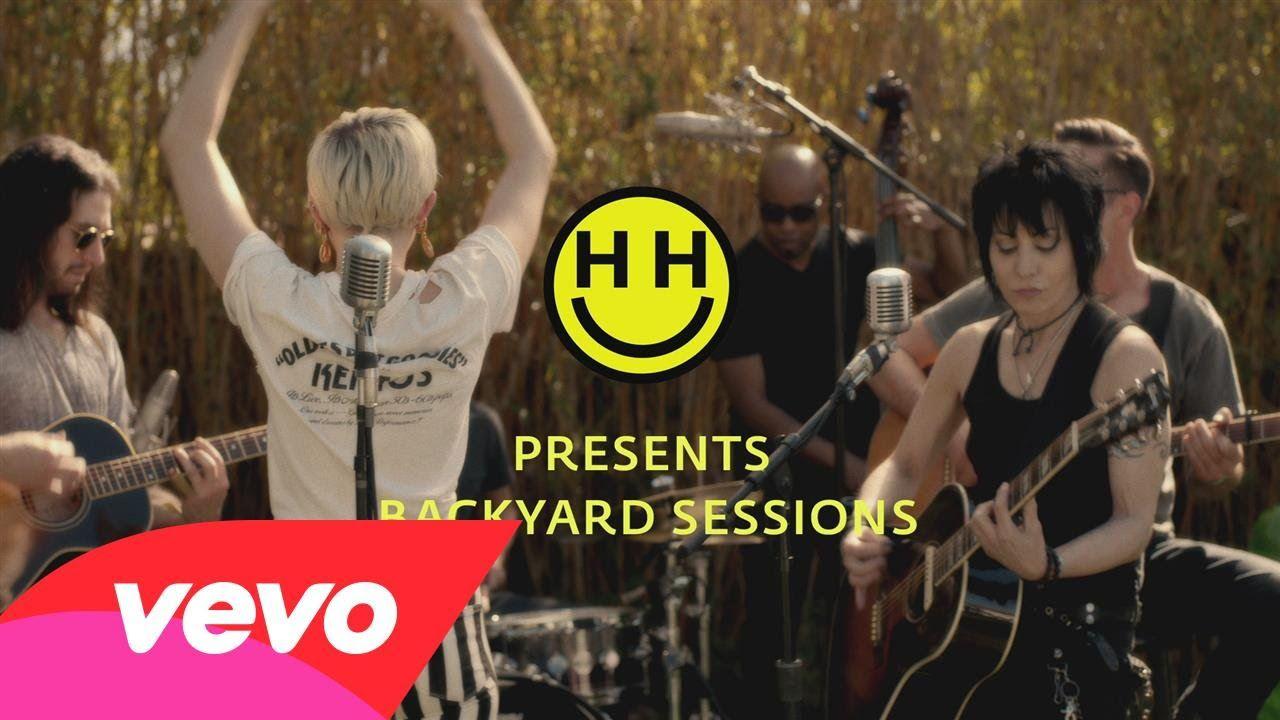 Miley Cyrus Happy Hippie Presents Different Performed By Miley Cyrus Joan Jett Miley Cyrus Songs Joan Jett Happy Hippie