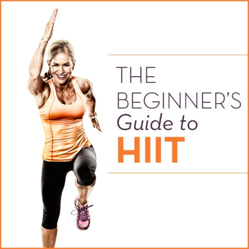 This beginners guide to HIIT is a How To for getting started with HIIT! HIIT WORKS by burning more fat and calories in less time!