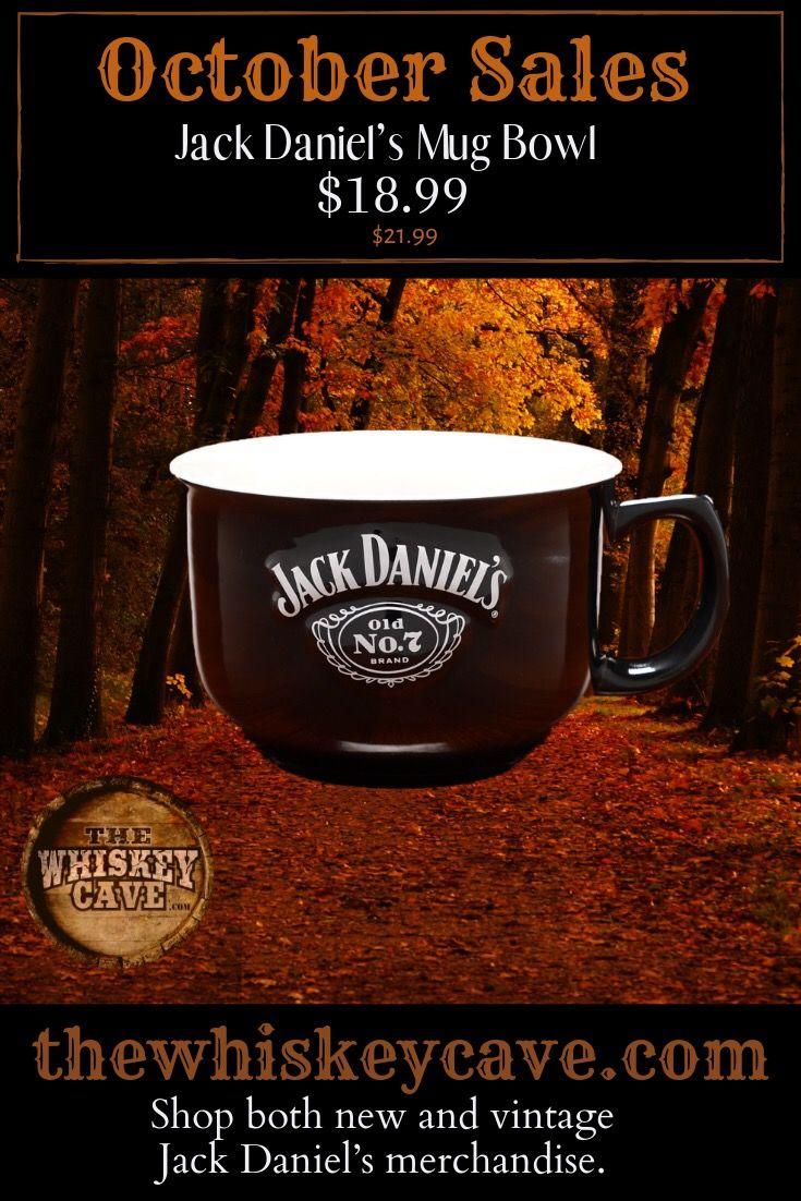 Jack daniels super sized mug bowl mugs hand poured soy