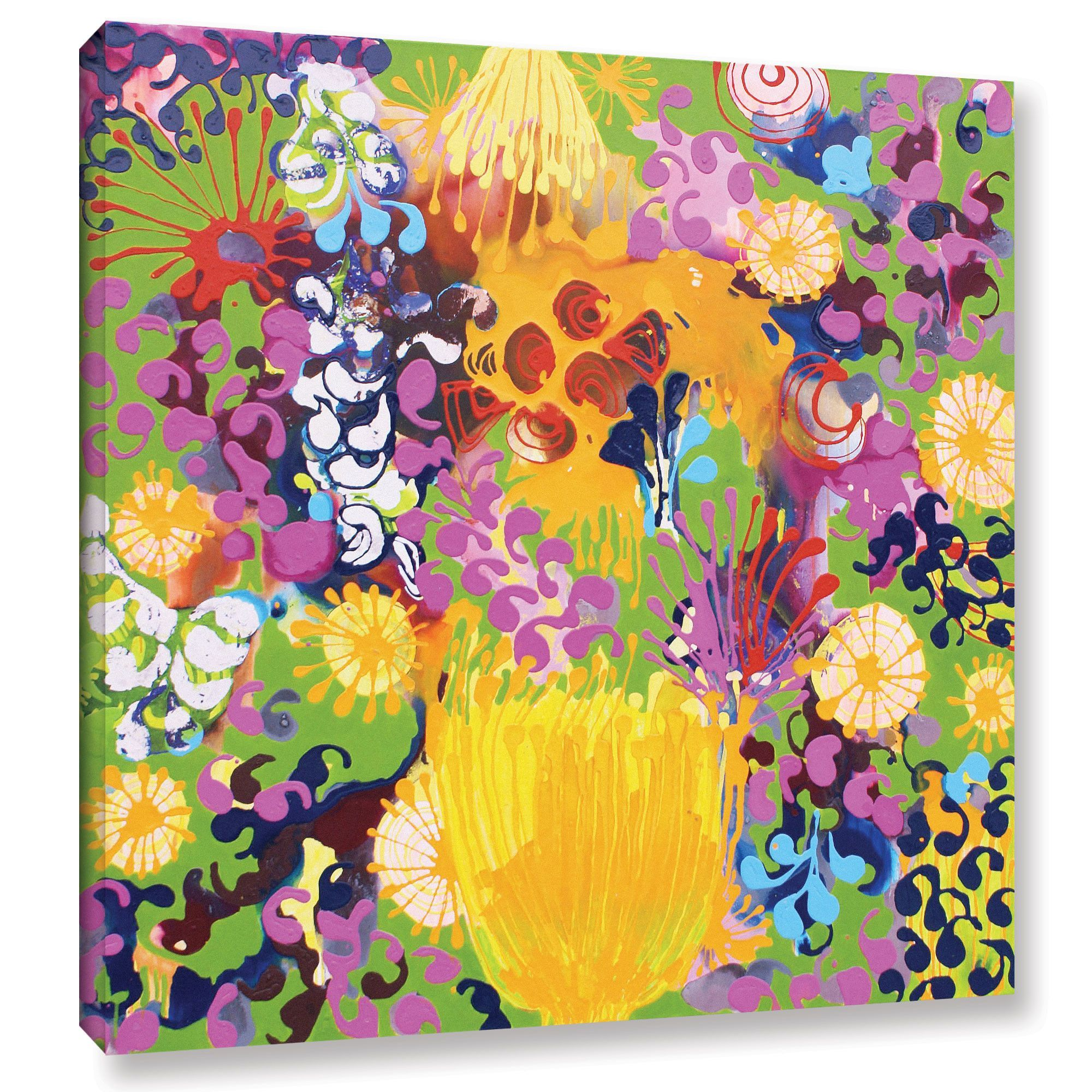 Sofie Siegmann Hard Candy Painting Print on Wrapped Canvas ...