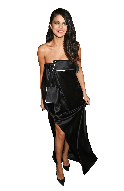 Selena Gomez Black Dress Png Image Selena Gomez Black Dress Dresses Black Dress