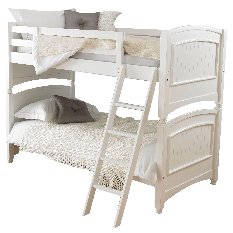 99 White Solid Wood Bunk Beds Interior Bedroom Design Furniture