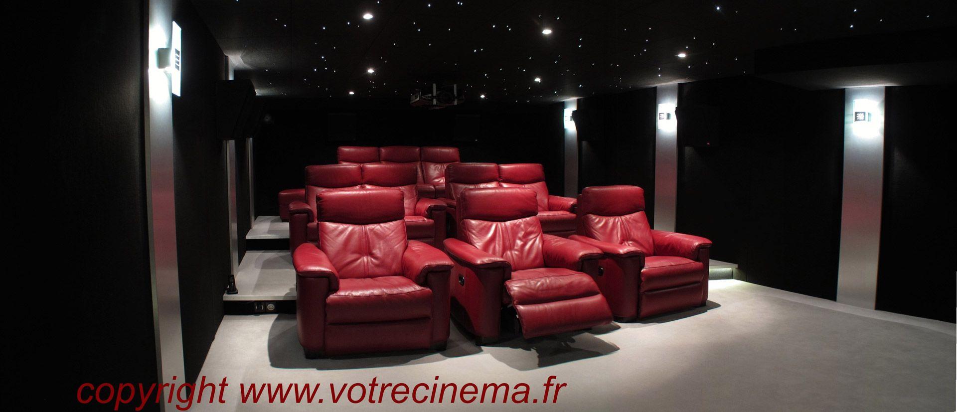 Salle home cinma maison salle de cinema maison lyon lie - Home cinema lyon ...