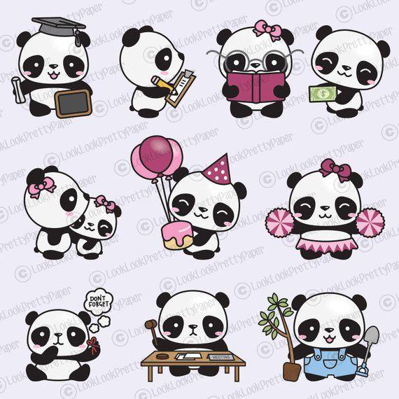 35+ Cute Panda Face Clipart