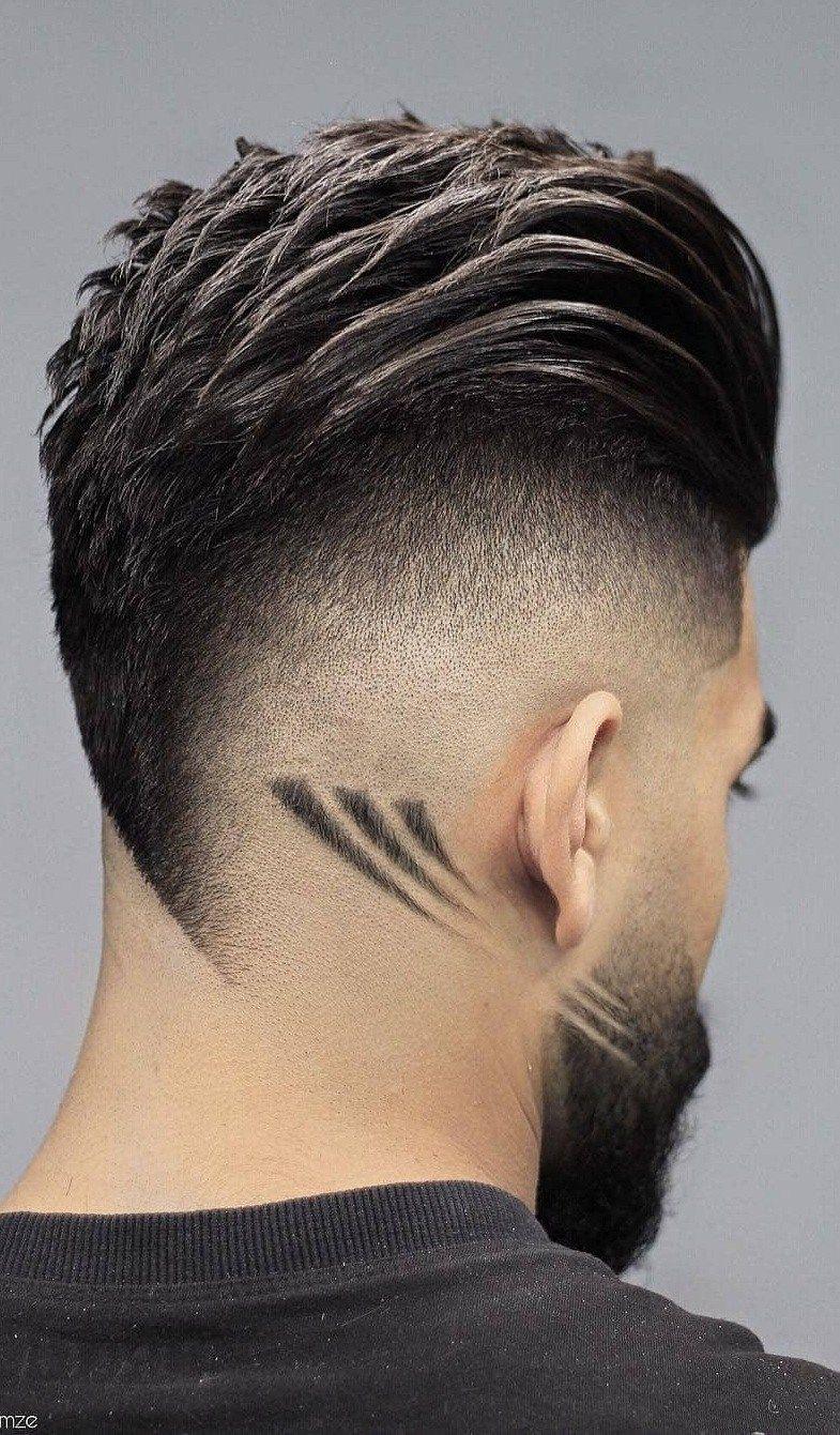 14 Back Fade Hairstyle Smart Charming Look Haircut Designs Creative Haircuts Hair And Beard Styles
