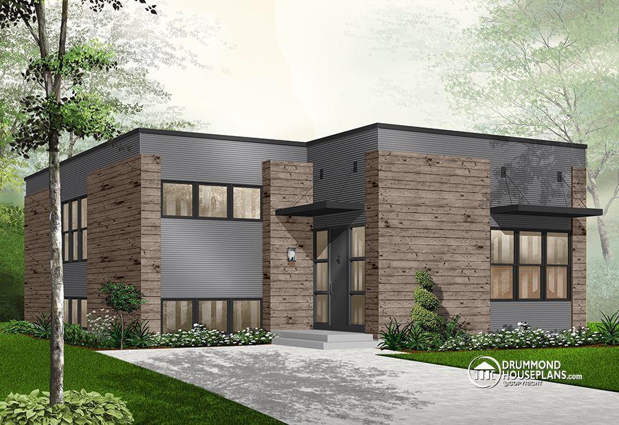Pin by Dessins Drummond    Plan de maison \ plan de rénovation on