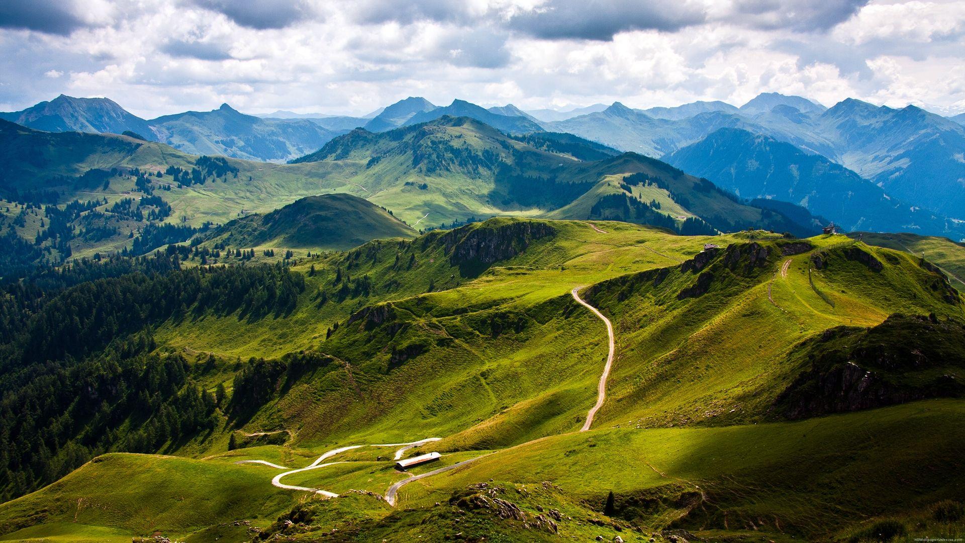 Austria mountains beautiful road HD Wallpaper - http://www.hdwallpaperuniverse.com/austria-mountains-beautiful-road-hd-wallpaper/