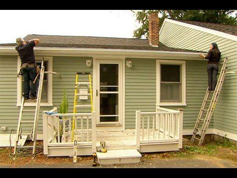 How To Install A Rain Gutter Diy Gutters House Gutters Rain Gutters
