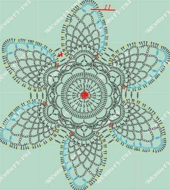 Pin de MD Mariscal en Crochet   Pinterest